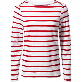 Craghoppers NosiLife Erin II Top a maniche lunghe Donna, winter rose stripe